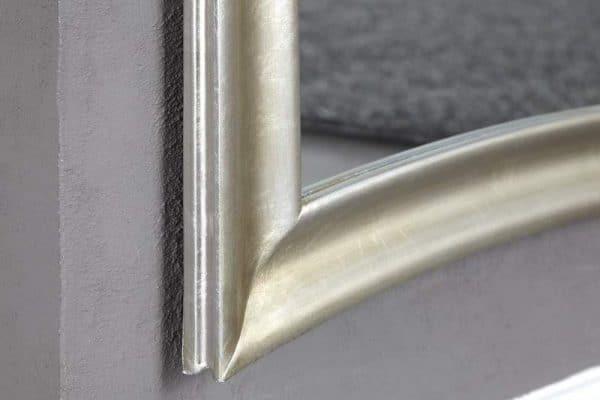 Nástenné zrkadlo Skinny 180cm - strieborné