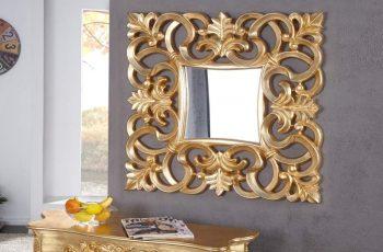 Nástenné zrkadlo Venice 75cm - zlaté