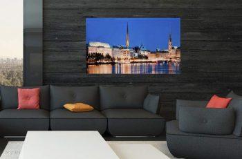 Obraz Hamburg Binnenalster 50x70cm sklo