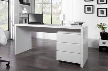 Písací stôl Fast Trade biely 160 cm