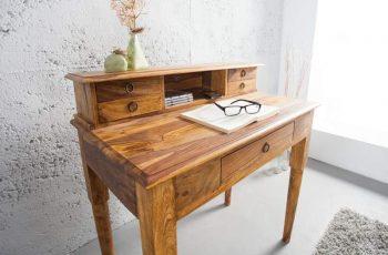 Písací stôl Hemingway 90cm sheesham