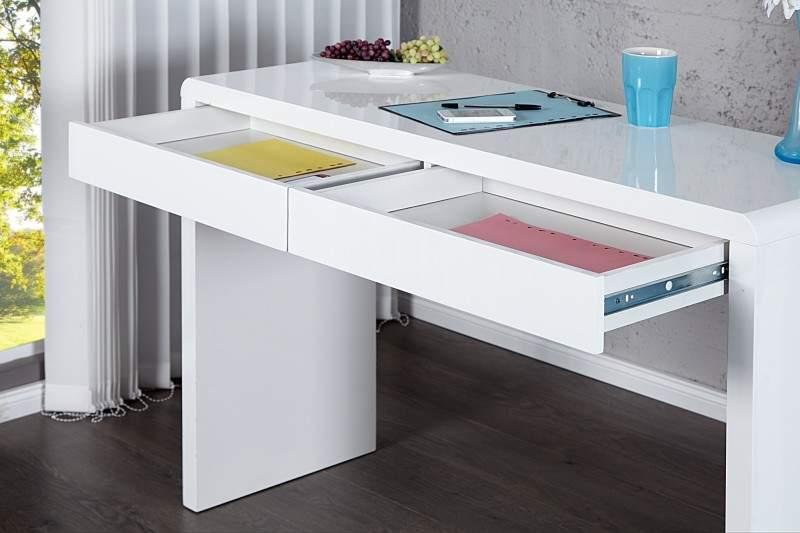 139814bcc4e8 Biely písací stôl Sensation 42 x 120 cm » » iKuchyne