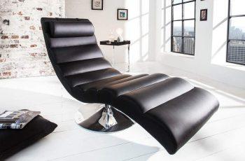 Relaxačné kreslo Liege Relaxo - čierna