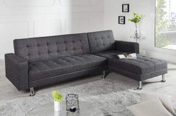 Rohová sedačka Chaise Lounge - antracit