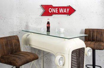 Šípka One Way 55cm červená pravá