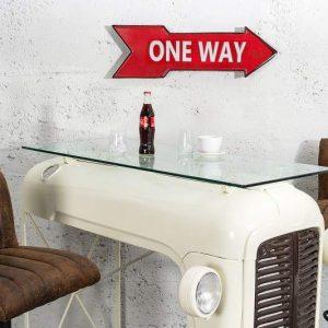 Šípka One Way červená pravá 55 cm