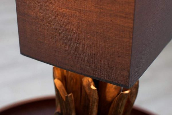 Sivohnedá stolová lampa Euphoria »