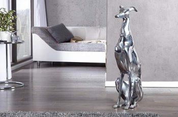 Soška psa Vino Alu 70cm