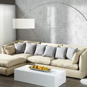 Stojanová lampa Extenso biela