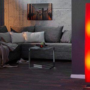 Stojanová lampa Forma - červená