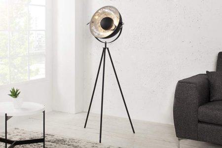 Stojanová lampa Forma - čierna