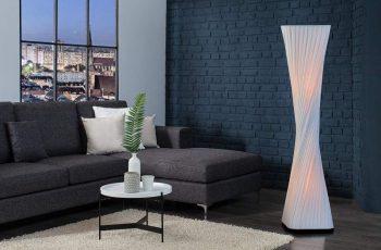 Stojanová lampa Harmony 120cm biela