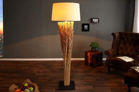 Stojanová lampa - naplavené drevo Euphoria 175cm