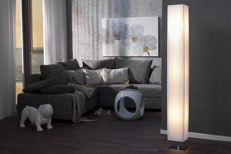 Stojanová lampa Paris biela 160cm