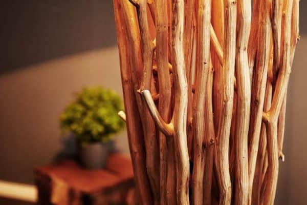 Stojanová lampa z naplaveného dreva Euphoria 175 cm »
