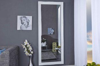 Stojanové zrkadlo Renaissance 185cm - biela
