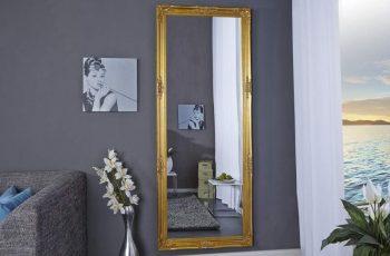 Stojanové zrkadlo Renaissance 185cm - zlatá
