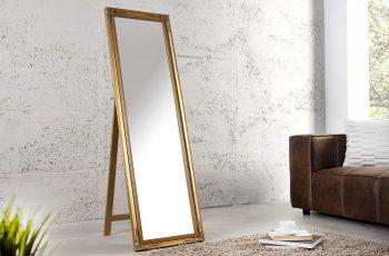 Stojanové zrkadlo Versailles 160cm - zlatá