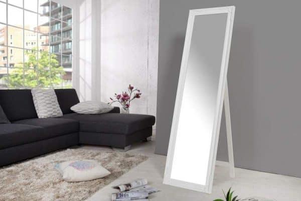 Stojanové zrkadlo Versailles biela 160 cm