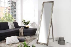 Stojanové zrkadlo Versailles strieborná 160 cm