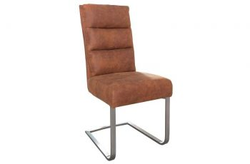 Stolička Comfort Vintage - svetlo hnedá