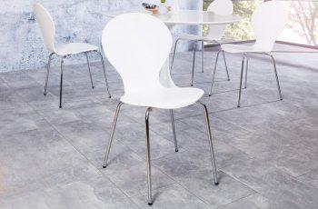 Stolička H-334 - biela