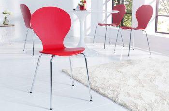 Stolička H-334 - červená