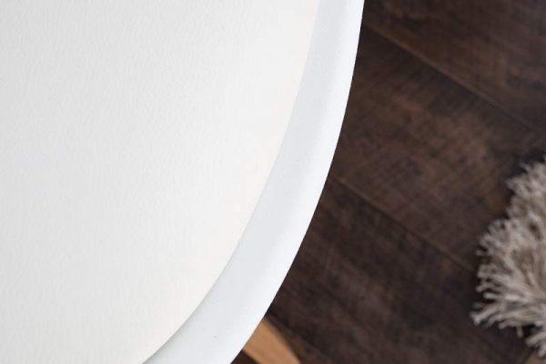 Stolička Scandinavia biela drevo (masív)