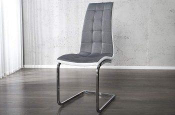 Stolička V-1 - biela antracit