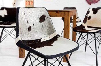 Stolička V-1 - čiernobiela
