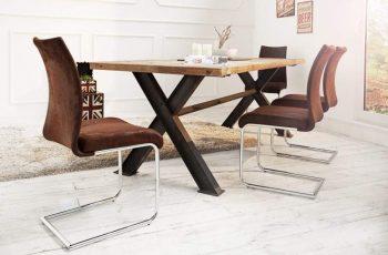 Stolička V-1 - coffee antik look