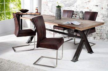 Stolička V-1 - darkcoffee
