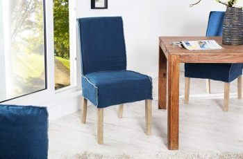 Stolička V-1 - modrá