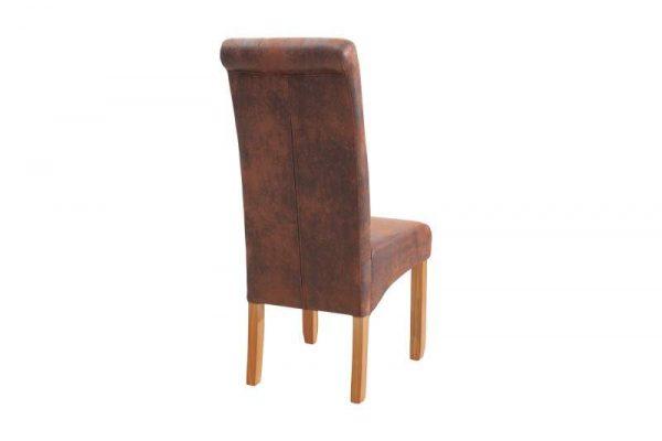 Stolička Valentino  whisky-hnedá