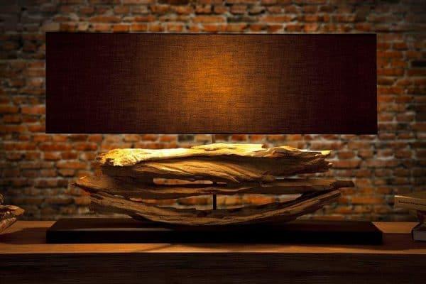 Stolová lampa Austin S - čierna