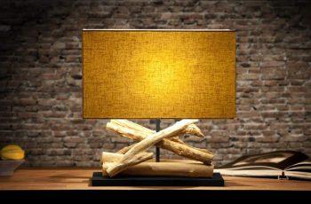 Stolová lampa Austin S - čierna (rám)