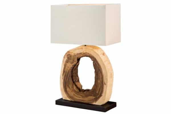 Stolová lampa - naplavené drevo Cycle