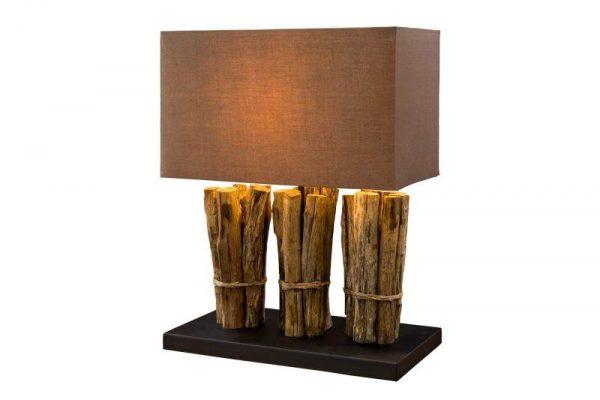 Stolová lampa Natural Life hnedá