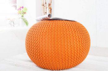 Taburet Vinc - oranžová