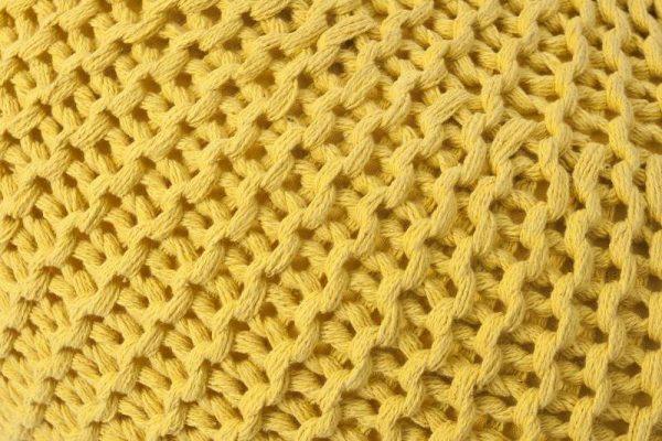 Taburet Vinc - žltá