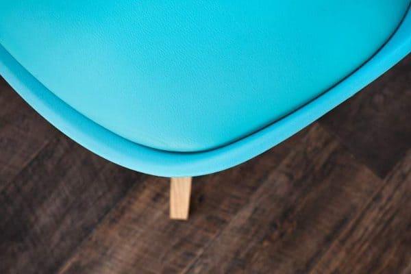 Tyrkysová jedálenská stolička Scandinavia »