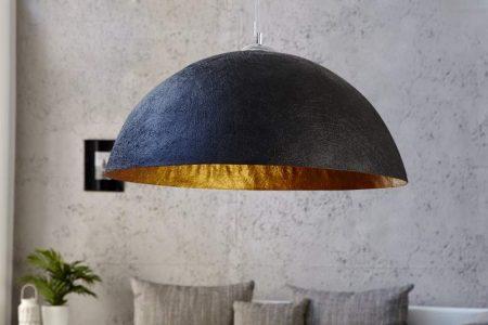 Závesná lampa Ador Stout - čierna