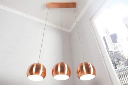 Závesná lampa Copper Ball