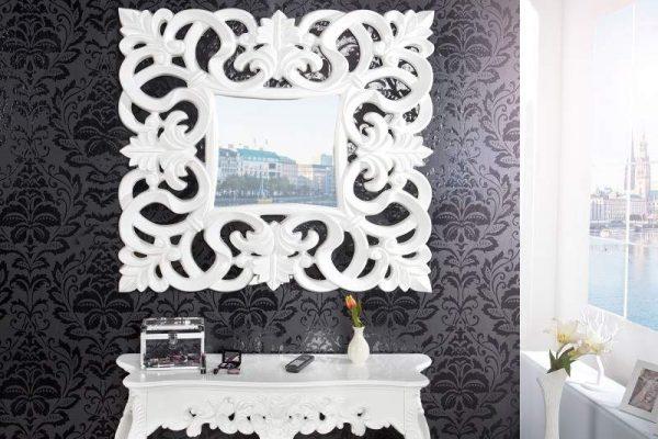 Zrkadlo Venice 180cm - antická biela