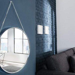 Zrkadlo Venice 180cm - strieborná