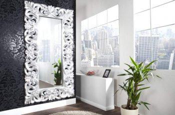 Zrkadlo Venice 180cm - strieborné