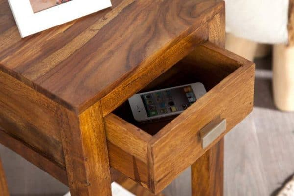 Drevený príručný stolík Lagos 30 x 30 cm »