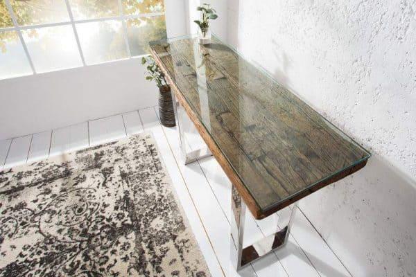 Drevený toaletný stolík Barracuda 40 x 120 cm »