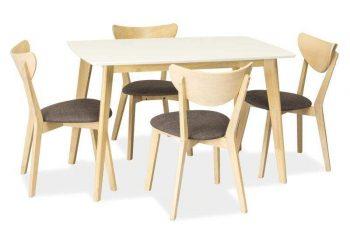 Jedálenský stôl Combo - biela