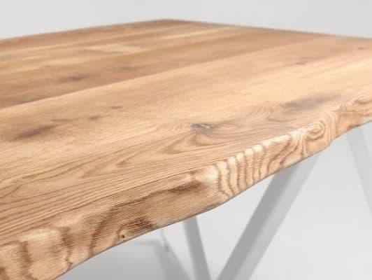 Jedálenský stôl Mezzo - biela